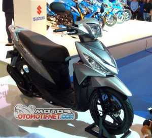 Launching Suzuki Address Intermot