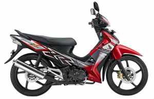 Honda Supra X 125 Red