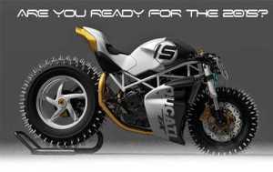 Ducati Monster Salju