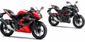 Kawasaki Ninja RR Mono dan Z250SL