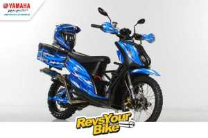 Pemenang Kedua Revs Your Bike Matic Mio Adventure
