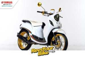 Pemenang Ketiga Revs Your Bike Fino Matic Fighter