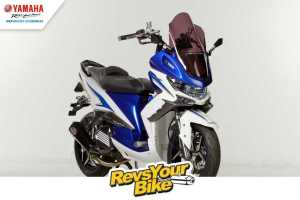 Pemenang Pertama Revs Your Bike My Xeon is Real Baby TMax