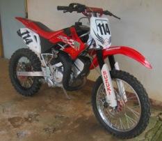 Modif Satria R120 Trail