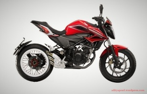 New CB150R Dragster 2
